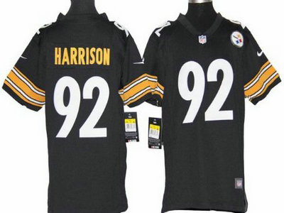 d10e65262 ... womens color rush fashion jersey 3009e 73527  new style nike pittsburgh  steelers 92 james harrison black game kids jersey 929eb 5d2af