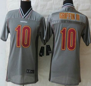 New Nike Washington Redskins #10 Robert Griffin III Lights Out Black  free shipping