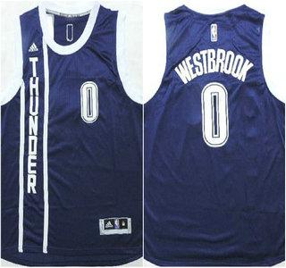 the best attitude 06033 a41ba Oklahoma City Thunder #0 Russell Westbrook Revolution 30 ...