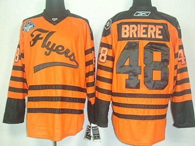 d24793149 ... jaromir jagr orange home ... philadelphia flyers 48 briere 2012 winter  classic orange jersey ...