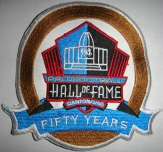 Nfl The Of Hall Patch Fame