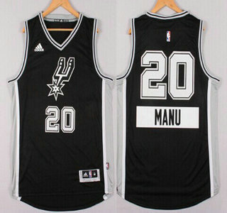 detailed look ad4b6 4b1ba san antonio spurs 20 manu ginobili revolution 30 swingman ...