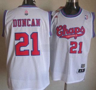 e241a61bd203 duncan swingman jersey San Antonio Spurs 21 Tim Duncan ABA Hardwood Classic  ...