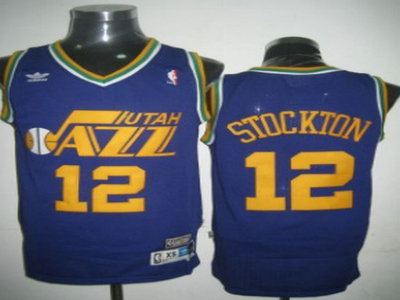 best cheap f5730 5e3b6 Utah Jazz 12 John Stockton Swingman Purple Jersey