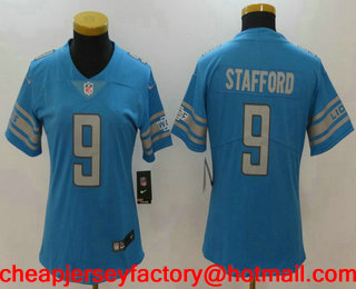 nice shoes ffd5a 48b06 nike detroit lions 9 matthew stafford white limited jersey