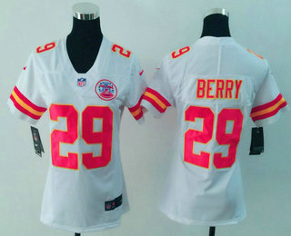 ... Line Fashion Game Jersey Womens Kansas City Chiefs 29 Eric Berry White  2017 Vapor Untouchable Stitched NFL Nike Limited ... 363ca790a