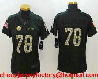 8c4fb737b ... Nike James Harrison Womens Black Game Jersey 92 NFL Home Pittsburgh  Steelers Online Womens Pittsburgh Steelers 78 Alejandro Villanueva Black  Anthracite ...