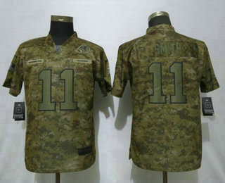 Women s Washington Redskins  11 Alex Smith Nike Camo 2018 Salute to Service  Stitched NFL Limited 6082cd412