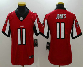 ... Youth Atlanta Falcons 11 Julio Jones Red 2017 Vapor Untouchable  Stitched NFL Nike Limited Jersey ... 65e676152