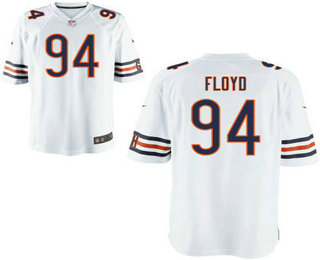 more photos fcd57 6c1ff Youth Chicago Bears #94 Leonard Floyd White Road NFL Nike ...