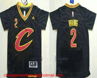 quality design 638f7 cd677 new arrivals youth kyrie irving black jersey 3c4aa bcaf7