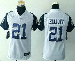 the latest c1651 23636 Youth Dallas Cowboys #21 Ezekiel Elliott Navy Blue Team ...