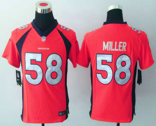bbbb6b61 coupon code for womens nike denver broncos 58 von miller limited ...