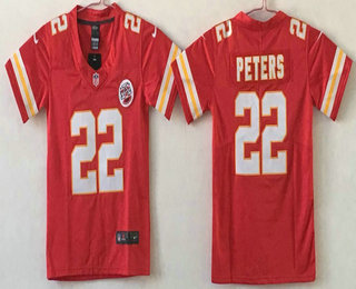 c10dc5552b1 ... Youth Kansas City Chiefs 22 Marcus Peters Red 2017 Vapor Untouchable  Stitched NFL Nike Limited Jersey ...
