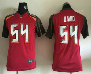 ... youth tampa bay buccaneers 54 lavonte david red team color nfl nike  game . ... e852e5f5b